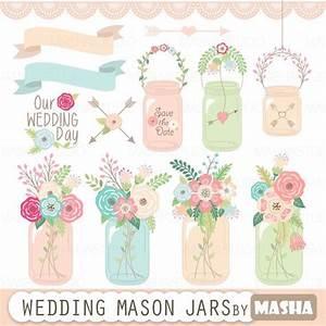 mason jar clipart quotwedding mason jarquot with mason jar clip With mason jar clip art for wedding invitations