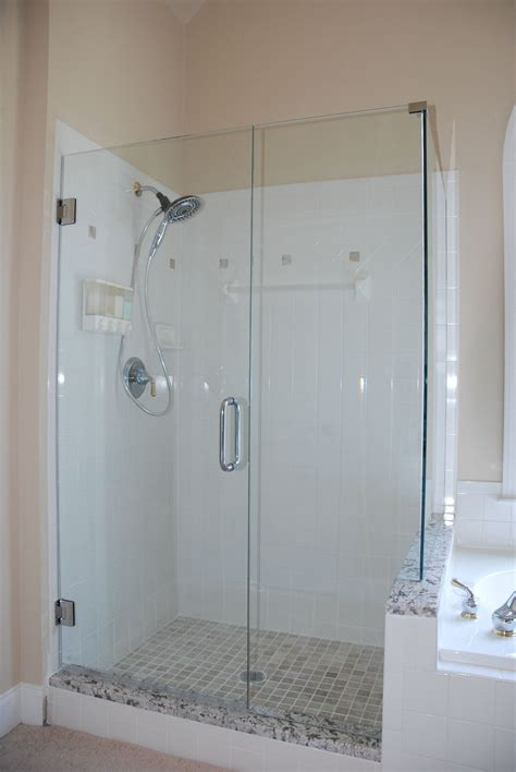 shower glass panel  contemporary bathroom styles amaza design