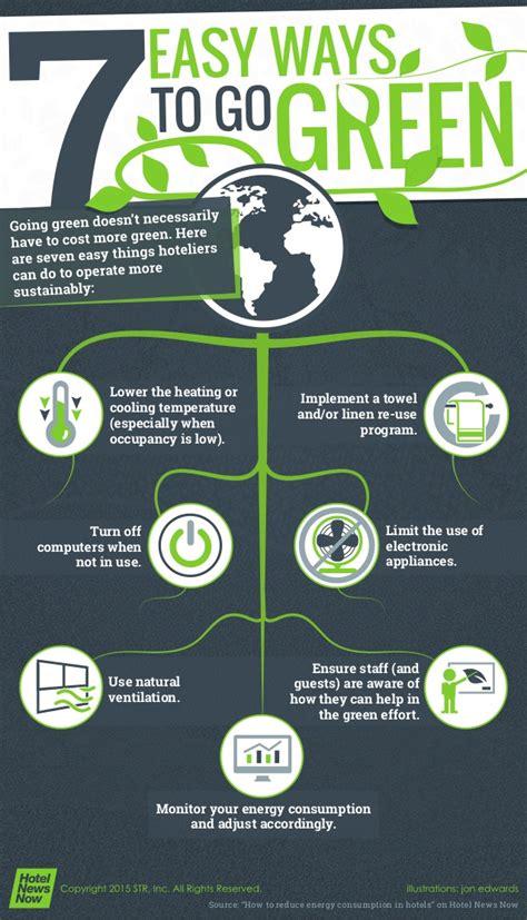 7 Easy Ways To Go Green