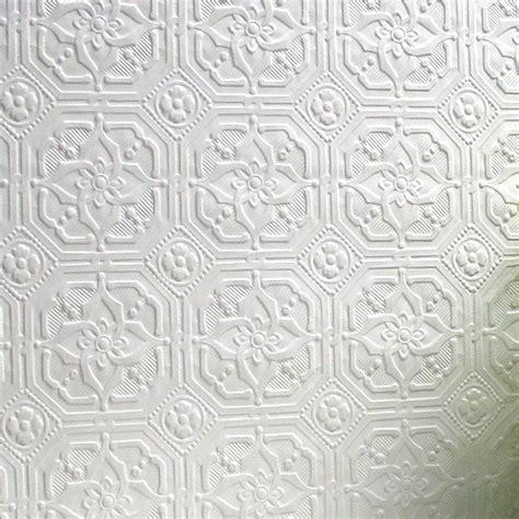 Black White Damask Wallpaper Anaglypta Paintable Paper Derby Wallsorts