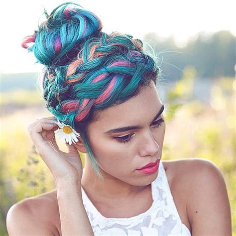 Impressive Pastel Color Braids Hairstyles You Wont Miss