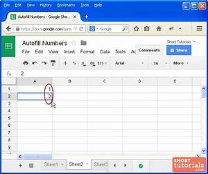 how to drag and increment numbers in google docs spreadsheet With google docs spreadsheet key