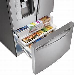 Lg Lfx31925sw 30 7 Cu  Ft  French Door Refrigerator With
