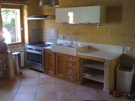 meubles cuisine bois brut cuisine bois brut cuisine noir laqu et bois recherche