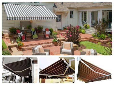 harga awning gulung canopy retractable kain jual canopy kain tenda membran  tangerang
