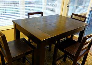 Ana White Tryde Counter-height Kitchen Table - DIY Projects