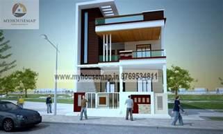 home building design front elevation design modern duplex front elevation design house map building design