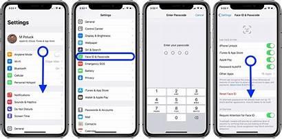 Passcode Change Iphone Ipad Custom Alphanumeric Screen