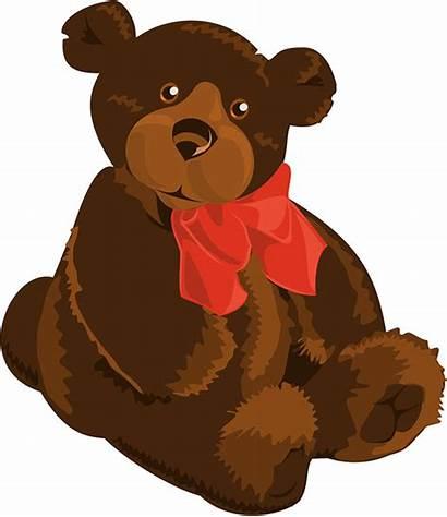 Teddy Bear Clipart Clip Bears Animal Stuffed