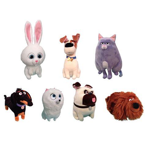 ty beanie buddies set of 7 secret life of pets