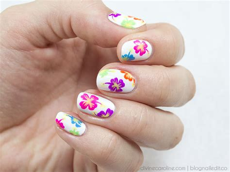 Totally Tropical Nail Design