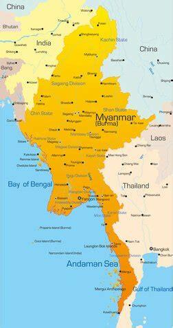 myanmar und die hauptstadt naypyidaw
