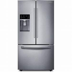 Samsung Rf28hfedbsr 36 U0026quot  French Door Refrigerator With Thru