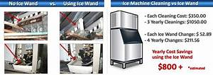Ice Wand Mold Control For Commercial Ice Machines