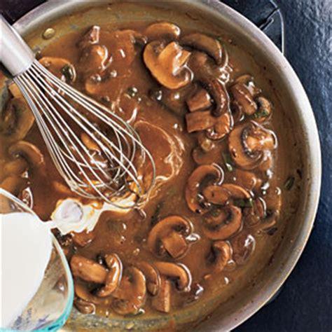 mushroom gravy cooking light