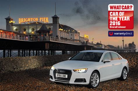 New Audi A4 wins What Car? Car of the Year Award   Autocar