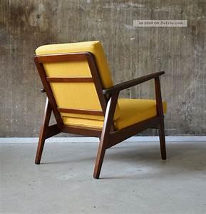 60er teak sessel danish design 60s easy chair vintage midcentury vodder ara for Sessel 60er design