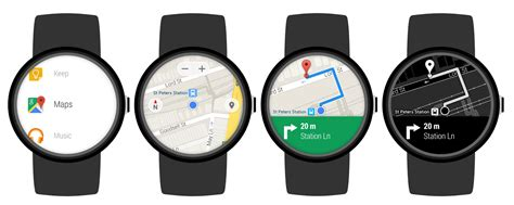 android wear maps app voor android wear ge 252 pdatet