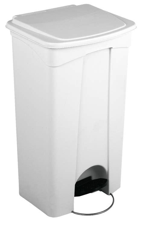 poubelle de cuisine blanche poubelle cuisine haccp 90 l
