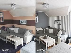Wand Grau Streichen : streichen in rot grau und beige ~ Frokenaadalensverden.com Haus und Dekorationen