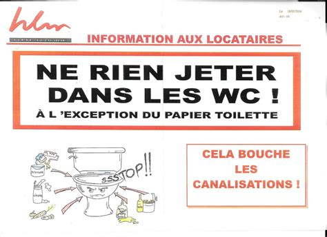 affiche ne rien jeter dans les toilettes ne rien jeter dans les wc cnl ugine savoie association de d 233 fense des locataires t 233 l 04 79