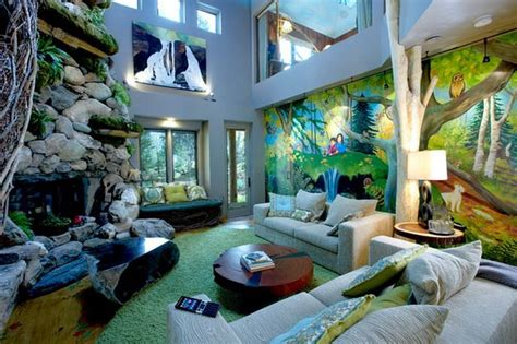 Bedroom Design African Themed Room Jungle Bed On Jungle