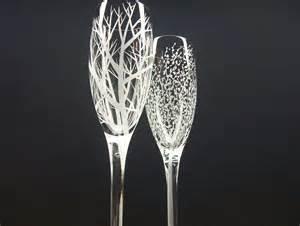wedding chagne flutes engraved chagne flutes