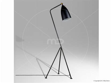 Grasshopper Floor Lamp Greta Grossman Replica Black 1