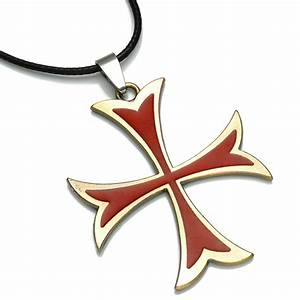 Assassins Creed Templar Necklace assassins creed figure ...