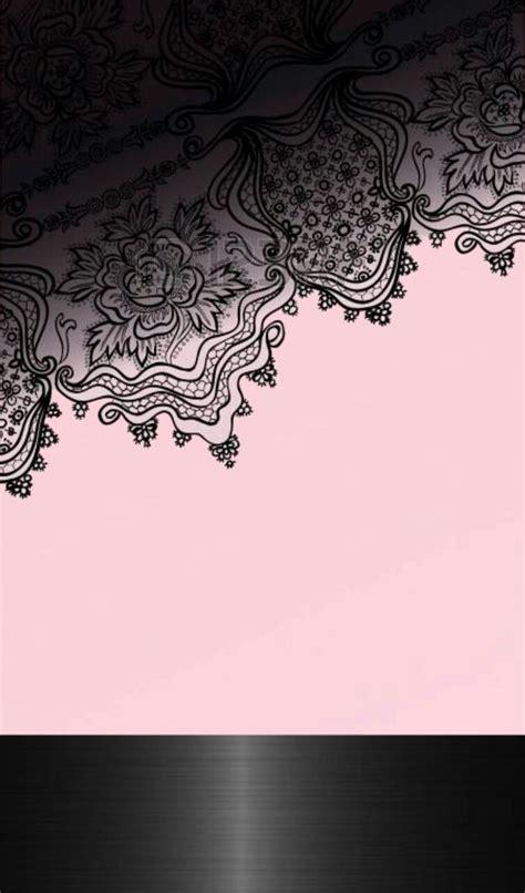 lace wallpaper ideas  pinterest full black