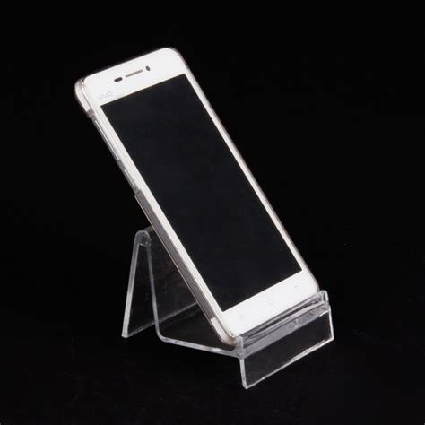cheap crown 10pcs cheap clear plastic wallet mobile phone display
