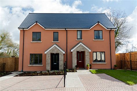 Royalty Free Semi Detached House Pictures, Images And