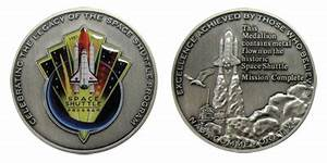 NASA's official space shuttle program medals ...
