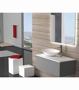 Meuble Salle De Bain Suspendu : fixation meuble suspendu salle de bain 20170725184435 ~ Edinachiropracticcenter.com Idées de Décoration