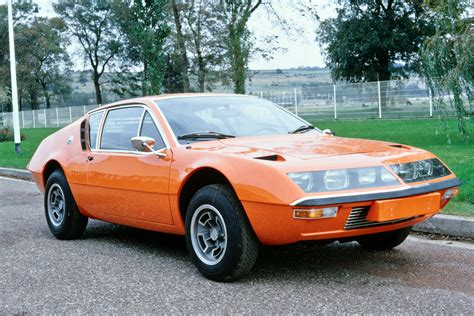 Renault Alpine A310 1973 cars coupe orange wallpaper ...