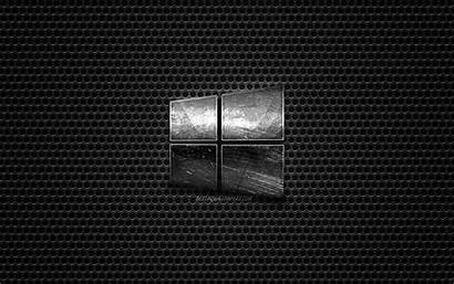 Windows Emblem Steel Metal Mesh Wallpapers Texture
