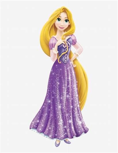 Rapunzel Disney Princesas Princess Vestidos Tangled Transparent