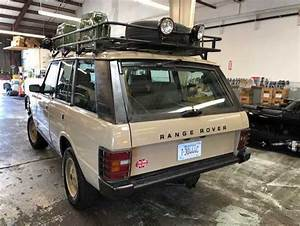 Early Range Rover Classic SWB Low Miles Camel Trophy ...