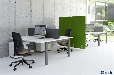bureau en open space bureaux open space blanc orange