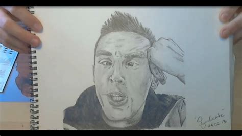syndicate speed drawing famous youtubers speed art