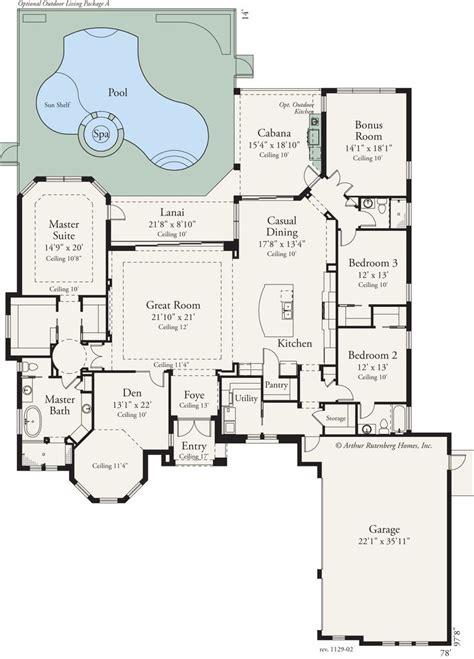 custom  bed  bath home features  open floor plan   expansive great room