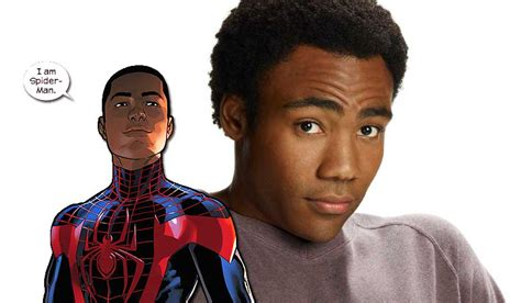 donald glover for spiderman why donald glover is not miles morales in spider man