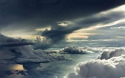 Storm Clouds Sky Cloudy Wallpapers Between Desktop