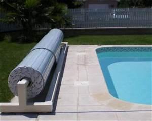 devis en ligne de volet de piscine hors sol avec rail en With volet roulant piscine gris
