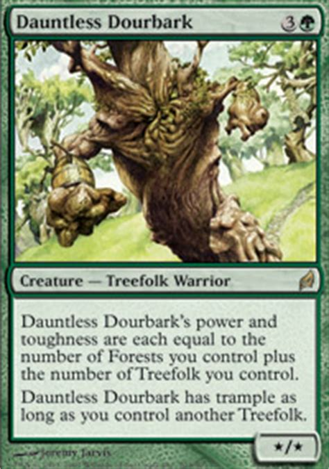 mtg treefolk tribal deck timber protector lorwyn magic the gathering