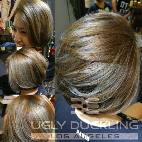 what color cancels out ash brown blue via green mixer by duckling color