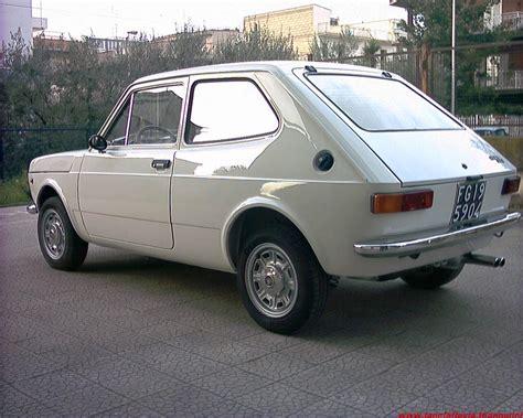 FIAT 127 BN - SPECIAL - SPORT/ PARAURTI POSTERIORE CROMATO ...