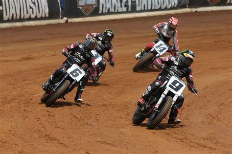 Indian Motorcycle Racing Secures First American Flat Track