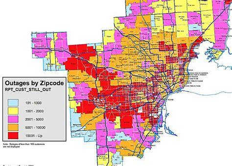 dte outage map restored kind  nation  world news