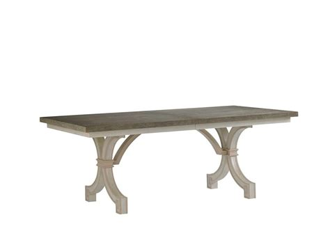 stanley furniture dining room st helena trestle table 340